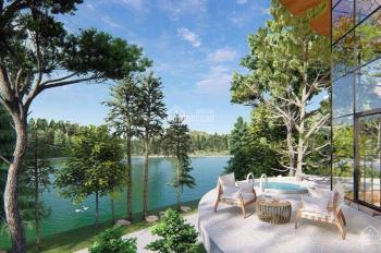 Bán gấp lô đất ven hồ Tâm Châu, view cực đẹp, xây nhà nghỉ dưỡng tuyệt vời trên Bảo Lộc luôn