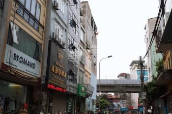 Cần bán gấp nhà Mặt Phố Yên Lãng 40m2 xây 6 Tầng, Tháng máy, Kinh Doanh Sầm uất. Cho thuê 45tr/1thá