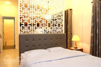 Cho thuê căn hộ dịch vụ mặt tiền 48 CMT8, p6, q3 gần ngã tư Võ Văn Tần, full nội thất giá 8 tr/th