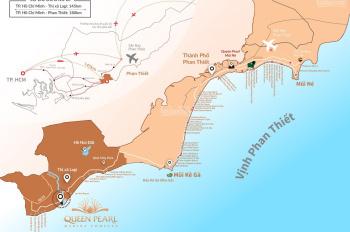 Cần Bán Đất Nền Góc Biệt Thự Biển Tại Queen Pearl Lagi- Lh 0932693221