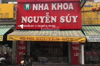 Bán nhà mặt tiền đường Nguyễn Súy, 5.35mx17m, giá 16 tỷ, P. Tân Quý, Q Tân Phú