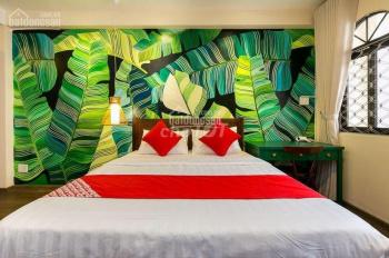 Cho Thuê Khách Sạn MT Nguyễn Thái Bình Q1 4x20m, 5 Lầu , 16 phòng Thang máy Giá 126 tr/th