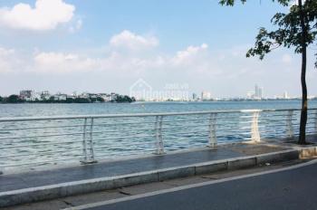 Bán đất phố Võng Thị, Tây Hồ, view Hồ Tây, 3 mặt thoáng, 150m2, MT 22m, 45 tỷ