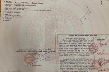 Chính chủ bán đất mặt tiền Hắc Dịch - Tóc Tiên, liên hệ: 0964846766