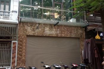 Cho thuê nhà mặt phố Trung Yên, DT 100m2, 6 tầng, mt 5m, tầng 1,2,3 thông sàn, có thang máy,