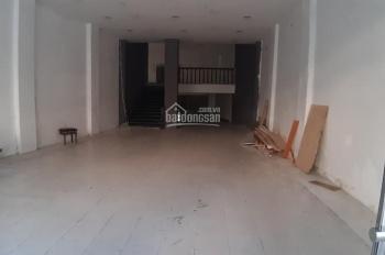 Cho thuê nhà mặt phố Trần Thái Tông, DT 140m2 + lửng 30m2, MT 7m, nhà thông sàn, 0934582845