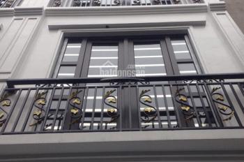 bán nhà riêng mới xây ngõ 211 Khương Trung, gần Đầm Hồng, 38m2 x 4 tầng, giá 2,65 tỷ