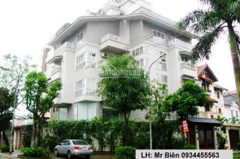 Chính chủ cho thuê biệt thự cao cấp  Vườn Đào, Phú Thượng, 5 tầng*400m2; 16000$/1 tháng, 0934455563