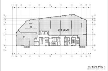 Phòng kinh doanh chủ đầu tư Phan Nguyễn bán lô góc sàn văn phòng 125.85m2 dự án Luxury Park Views