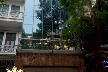 Cho thuê nhà tại Trung Yên 10, Cầu Giấy. DT 100m2, 6 tầng, MT 5m, tháng máy, giá 75tr/th