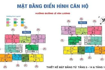 Bán nhanh căn hộ chung cư Ban cơ yếu Chính phủ, căn 2004, DT 124m2, 3PN, giá 27tr/m2, 0976 807 257