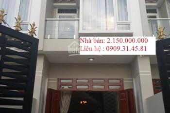 Chính chủ bán nhà mới 1 trệt 1 lầu Lê Minh Xuân , đang cho thuê 7tr/ tháng, bao sang tên