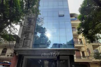 Cho thuê nhà mặt phố Trần Duy Hưng, Trung Hòa. Diện tích 100m x 6 tầng, mặt tiền 6m. giá 60tr/th