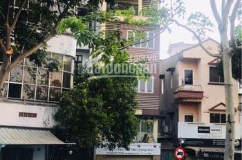 Cho thuê nhà mặt tiền đường Khánh Hội, Phường 3, Q4, 6 tầng DT: 14x16m. Giá 230 tr/th