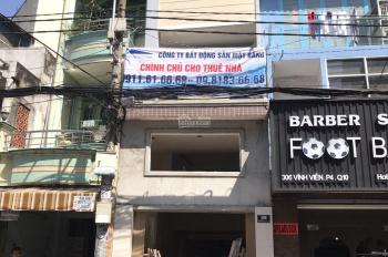 Cho thuê nhà mặt tiền 308 Vĩnh Viễn, P.04, Quận 10. Giá 35 triệu/th th lượng -0911616668