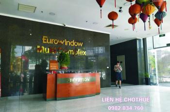 Cho thuê văn phòng hạng A tại Tòa nhà Eurowindow Trần Duy Hưng  DT 100-255m2, liên hệ 0982.834.760