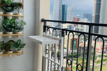 Cho thuê căn hộ cao cấp The Tresor 39 Bến Vân Đồn, 75m2, 23 tr/tháng, đầy đủ NT cao cấp
