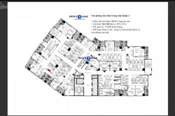 Văn phòng cho thuê Quận 1 - diện tích 800m2 - ngay trung tâm Q1