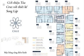 Feliz En Vista 3 Phòng ngủ, DT 106m2 Căn số 06, Tòa Cruz, tầng cao, Giá 5.6 tỷ. LH: 0931356879
