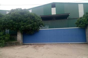 Cần bán nhà xưởng có sẵn DT 7700m2 có 1600m2 nhà xưởng đã chuyển đổi đất SXKD tại Lương Sơn