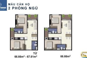 Căn hộ MT Nguyễn Lương Bằng ngay Phú Mỹ Hưng Q7 Boulevard, giá từ 40tr/m2. Lh 0912655552
