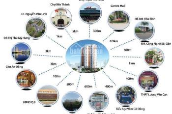 Bán chung cư Khang Gia, quận 8, nhà mới 100%, DT: 76m2, 2PN giá chỉ 1,49 tỷ. LH: 0902462566
