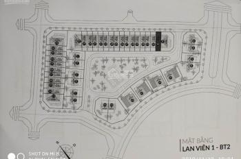Bán biệt thự Đặng Xá, biệt thự khu BT2, diện tích 132m2, dự án Lan Viên - Gia Lâm. LH: 0912.719.896