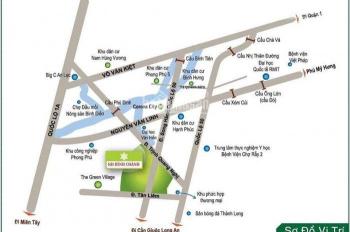 Cần bán lô đất vàng KDC Phong Phú 4, Bình Chánh, chỉ 2.4 tỷ - 100m2, đường 12m, TC, sang tên ngay