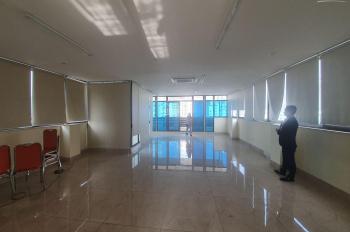 Cho thuê sàn cuối 80m2 trong tòa nhà 9 tầng có hầm ô tô đỗ cửa mặt phố Khuất Duy Tiến, view đẹp