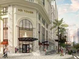 Nhanh tay được mua căn đẹp, giá tốt dự án HDI Tower 55 Lê Đại Hành, view Hồ Bảy mẫu, quà tặng 100tr