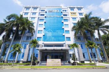 Cho thuê văn phòng SaiGonTel Building, đường Quang Trung, Q12, dt 208m2, 12usd/m2.