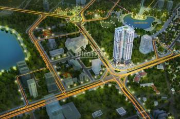 Bán căn hộ TT Q. Cầu Giấy, 3PN, hỗ trợ LS 0% trong 12 tháng, chiết khấu 2%, căn góc tầng trung