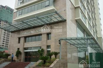 Cho thuê văn phòng tòa nhà Thăng Long Tower, 98 Ngụy Như Kon Tum,Thanh Xuân, 170m2, đã ngăn phòng