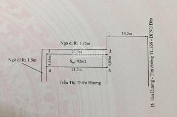Bán đất 2 mặt tiền  tặng nhà ở 3 tầng nhà xây kiên cố vị trí tại đường 359 Thuỷ Nguyên đang mở rộng