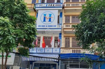 Cho thuê nhà phố Nguyễn Văn Huyên, DT 60m2 x 5 tầng, MT 4,5m, nhà 2 mặt tiền. LH 0987 560 669
