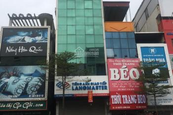 Cho thuê nhà MP Xã Đàn, Đống Đa, Hà Nội, DT 85m2, 7 tầng, MT 5m thông sàn, thang máy giá 85tr/th