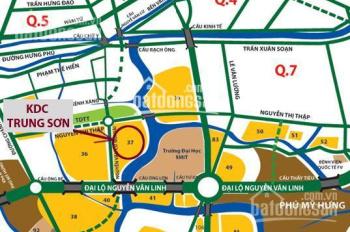 Bán 3 lô đất KDC Trung Sơn, Bình Hưng, Bình Chánh. Giá chỉ 1,6tỷ/nền, Xây dựng tự do, LH 0902767625