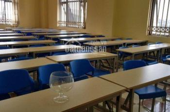 Cho thuê trường học Hà Nội, Long Biên, 3 sàn, mỗi sàn 450m2, giá thuê cực rẻ 40tr/sàn