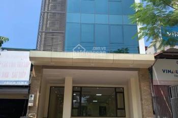 CC cho thuê nhà xây mới đường Trần Duy Hưng,DT 98m x7T, mặt tiền 7m , oto vào, thang máy.Giá 68tr