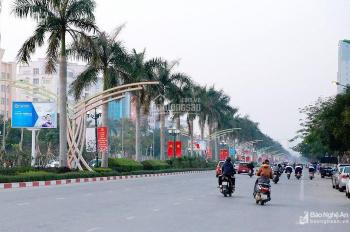 Bán lô đất mặt đường Đại lộ Lê Nin, thành phố Vinh, diện tích 120 m2