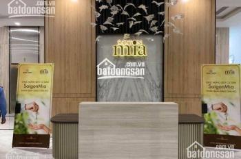 Bán lại căn hộ Sài Gòn Mia 2PN nằm ngay góc rộng 78m2, giá bán 3.4 tỷ. LH: 0706679167
