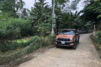 Bán 3000m2 đất trang trại nhà vườn thôn Xoan xã Vân Hoà, Ba Vì, giá 250 triệu/ sào