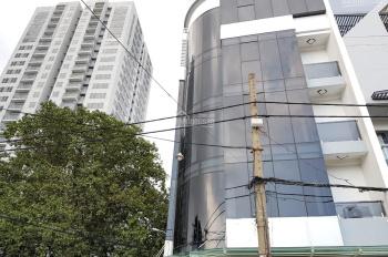 cho thuê tòa nhà văn phòng mặt tiền đường Cộng Hòa Tân Bình 8x25m T5L ST thang máy giá 140 triệu