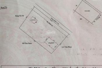 Bán đất tuyệt đẹp có sẵn 2 căn nhà trên lô đất ngang 62m sâu 40m đường bê tông