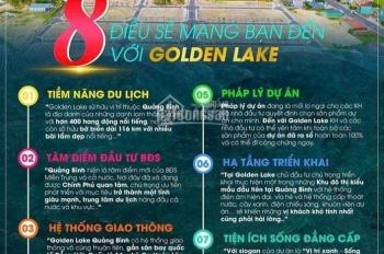 Golden Lake là dự án ven biển duy nhất tại Miền Trung Đã có sổ đỏ từng lô giá chỉ 10tr/m2 !!!