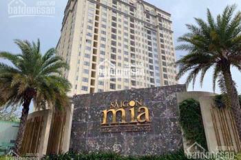 Giỏ hàng cập nhật căn hộ Sài Gòn Mia, nhà mới 100%, tặng 1 năm PQL, nhận nhà ngay, LH 0931877334