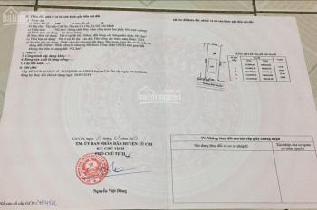 Bán đất MT Trung tam thi tran Cu Chi