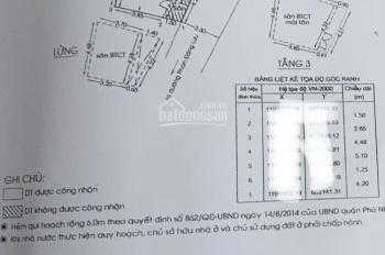 Bán nhà HXH 72 Phan Đăng Lưu, p5 Phú nhuận cách đường chính 100m