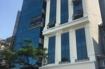 Cho thuê mặt đường Nguyễn Xiển. 83m2 mặt tiền 6m xây 4T thông sàn, lô góc 2 mặt tiền, giá 35tr/th
