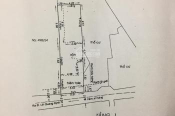 Cần bán nhà cấp 4 HXH Lê Quang Định, P1, GV, 5.5x23.6m, nhà gần MT